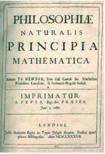 Το έργο του Ισαάκ Νεύτωνα PRINCIPIA